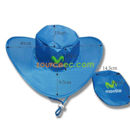 917eb118e Nylon Foldable Cowboy Hat